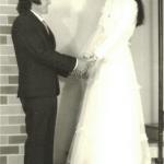 Dorval Dametto (*15/04/1953) e Nelci Langaro Dametto (*30/08/1957). Casamento em 22/05/1982.