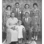 Família Mayer. Euclides Mayer casou-se com Rosa Dametto e Cesira Mayer com  Selvino José Dametto.
