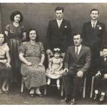 Familia de José Alberto Steffani, segundo filho de Magdalena Dametto Steffani.