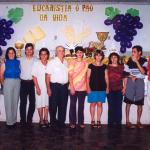 Família de Fiorentina Angelina Dametto e João Pedro dos Santos (da esquerda para a direita): Marli, Marlene, Pedro João, Fiorentina Angelina Dametto, João Pedro dos Santos, Marlei, Marilei, Maria Emília, Petri João e Maurício João dos Santos.