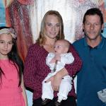 Gabriela Dametto (*20/12/2000), Joara Aparecida De Oliveira (com o filho Pedro Eugenio) e Edson Dametto.