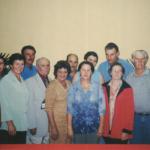 Filhos e filhas, genros e noras de Gentil Armando Dametto e Josefina Veronilda Gastaldo.
