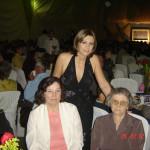 Formatura de Ilda Maria Roversi (em pé). Sentadas: Catarina Dametto Roversi, Elzira Dametto e Carmelinda Parisotto Dametto.