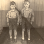 Irmãos Ivan José (*30/01/1948) e Claudio Luiz Dametto (*15/09/1946).