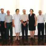 Ivo Baseggio, Cleudes Giacomin e irmãos Baseggio.