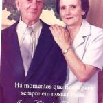 Ivo Baseggio e Cleudes Giacomin. Casaram-se no dia 23/11/1949.