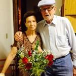 Ivo Chies e Genny Catharina Storchi Chies - 64 anos de casamento.