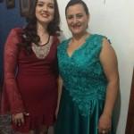 Jaqueline Lima e Rozana Matoso.
