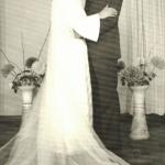 Josué Dametto (*11/03/1941) e Maria Zeli Ramos Dametto (*09/03/1954), casamento em 23/03/1974.