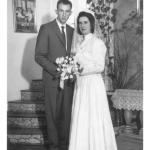 Jolvino Salton e Maria Dametto, casamento no dia 20/07/1963.