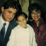 Família José Antonio Dametto, Rosana de Fátima Severo Dametto e Carolina Severo Dametto.