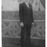 José Dametto, primeiro filho de Angelo Francisco Dametto e Orélia Luiza Ferrari Dametto.