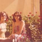Irmãs Justina Inês e Assunta Dametto. Medianeira - Pr, c. 1973.