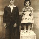 Lírio Antonio Dametto e Teresinha Riedi (filha de Assumpta Zanatta e Pedro Riedi).
