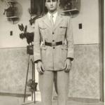 Lírio Antonio Dametto, 16 anos, no Colégio Champagnat (marista), Veranópolis – RS.