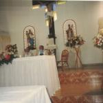 Capela São Silvestre (nova), Linha 12, Carlos Barbosa. Interior.