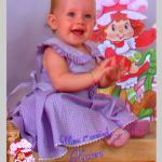 Karen Dametto, filha de Márcia Dametto. Primeiro aniversário, no dia 20/02/2010.