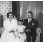 Nilda Dametto e Armando Carissimi com os sobrinhos Ivan José, Claudio e Ione Dametto.