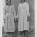 Orélia e Rosa Dametto.