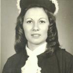 Maria Regina Dametto - formatura em Serviço Social.