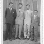 Irmãos Severino, Selvino, Honorino e Roque Dametto.