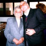 Thereza Dametto Chies e Armando Dametto, 90 anos de Thereza.