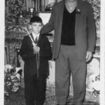 Francisco José Dametto e afilhado Ivaldo Dametto.