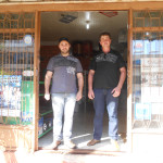 Cezar Dametto e João Donisete Dametto (primos). Agropecuária Pontual, Tapejara - RS.