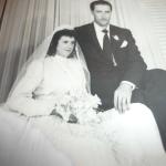 Olívio Zanatta e Inês Fontana. Casaram-se em janeiro de 1960.