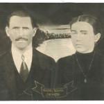 Riccieri Zanatta (*21/08/1887 †08/10/1966) e Joanna Dametto Zanatta (*26/10/1902 †27/05/1932) casaram-se em 1922.