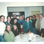 Comemoração dos 82 anos de Fermina Zanatta em família.