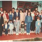 Família Fermina Zanatta e Artemio Domenico Mazaro. Comemoração de 40 anos de casados.