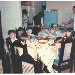 Cenas do aconchegante lar de Fermina Zanatta e Artemio Domenico Mazaro.